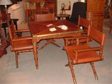 Barbados Game Table Set