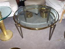 Brass and Steel Coffee Table