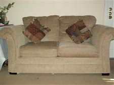 Loveseat and 3 Seater Sofa