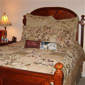 ALMOST New Cherry Wood Bedroom Set