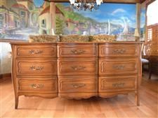 Triple Dresser And Chest On Chest Davis Cabinet Co