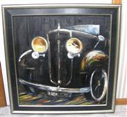 Rolls Royce Original Oil Painting