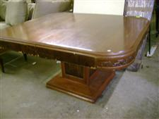 Peadstal Base Dining Table