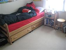 Solid Wood Kids Bedroom Set