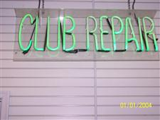 Neon Golf Signs