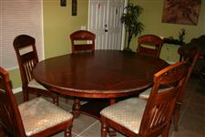Dining Table and Chairs - Havertys