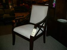 Wood Frame Occasional Chair