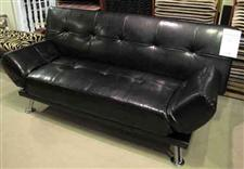 Futon Sleeper Bonded Leather