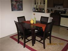 Gorgeous Mango Wood Dining Table (Crate & Barrel)