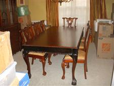 Formal Dining room table/chairs