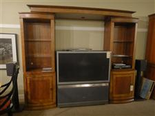 Ashley Entertainment Wall Unit Affordable Consignment Furniture Of Pa Furniturefindex Item