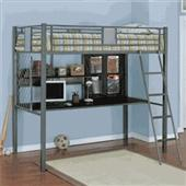 Powell Monster Twin Loft Bed