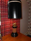Ticker Tape Stock Broker Lamp