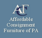 Affordable Consignment Furniture of PA Welcome to Affordable Consignment Furniture of PA.  This is not your mother`s used furniture